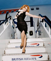 British Airways Kylie Advert
